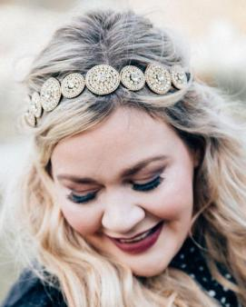 Cents Of Style Majestic Circle Jeweled Headband