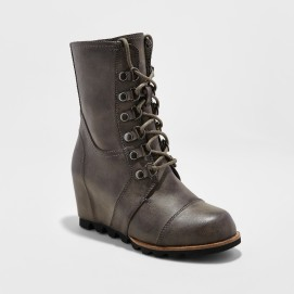 Target Marisol Lace Up Wedge Hiker Boots