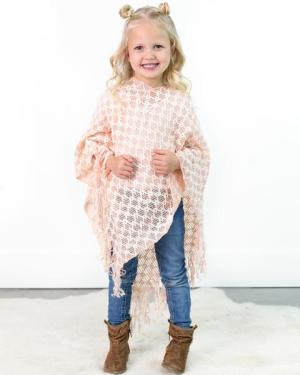JUDITH LOOSE KNIT PONCHO