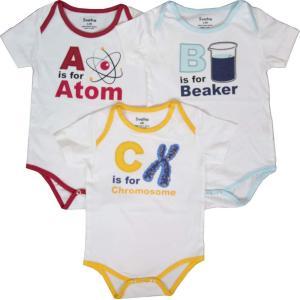 ABC'S OF SCIENCE BABY BODYSUIT BUNDLE