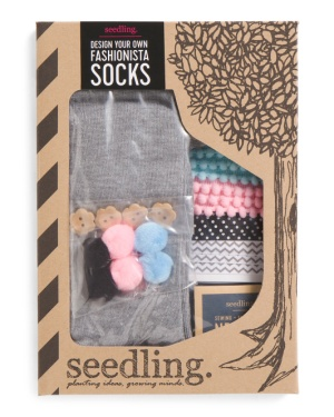 Design Your Own Fashionista Socks Kit